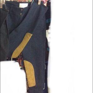 NWT! The tailored sportsman breeches-micro denim